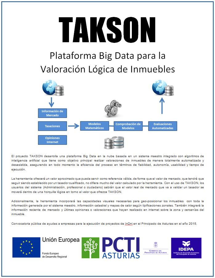 Valoraciones masivas con TAKSON, de Aesval